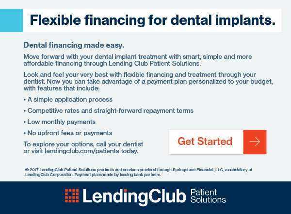Click here to check your eligibility for financing dental treatment using Lending Club